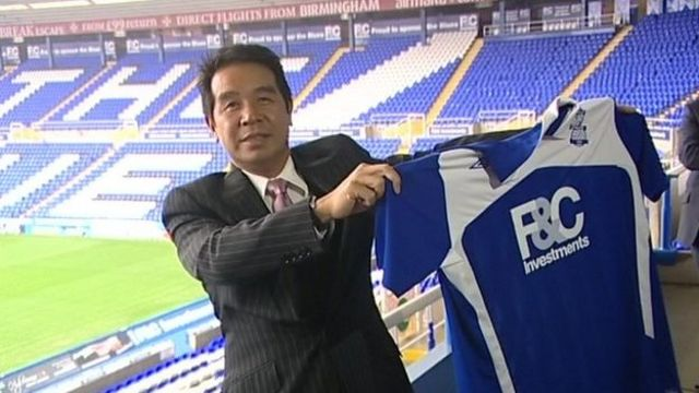 Birmingham City owner Carson Yeung jailed for six years