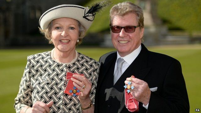 Dame Penelope Keith and Michael Crawford