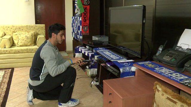 Muad Alghazali, Chelsea Supporter