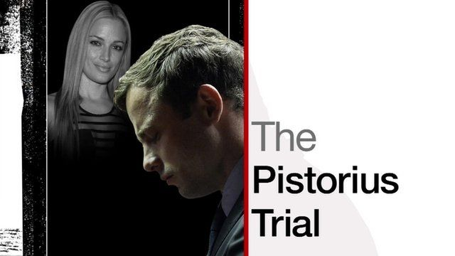 Oscar Pistorius trial graphic