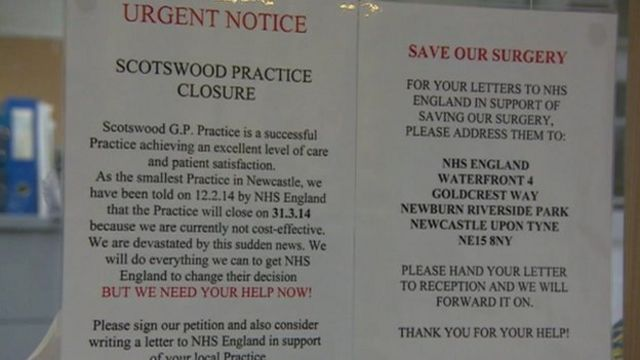 Scotswood closure notice