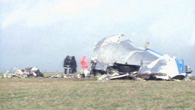 Flight wreckage