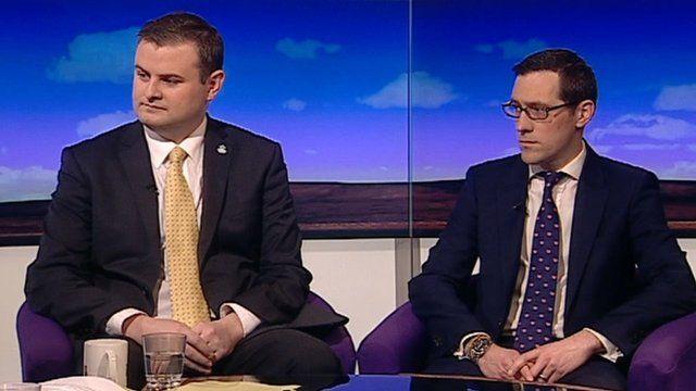 Andrew Stephenson and Tom Hawthorn