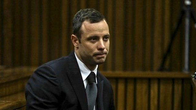 Oscar Pistorius sits in the dock on 11 March 2014