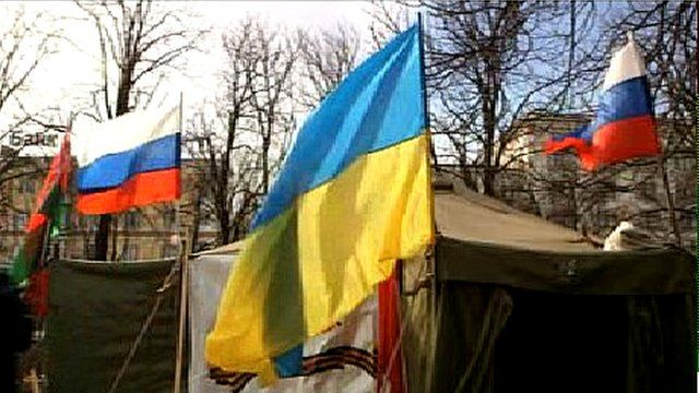 Tent residence of Luhansk's ''people's governor''