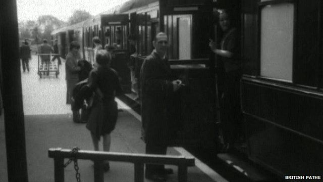 British Pathe newsreel of Wisbech station