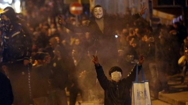 Turkey mass protests: 'Two dead' after teenager's funeral