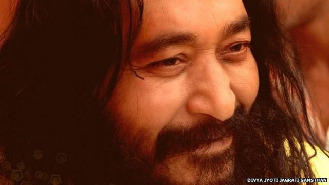 Dead Indian guru frozen by devotees