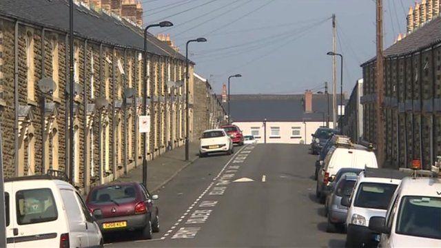Street in Wales