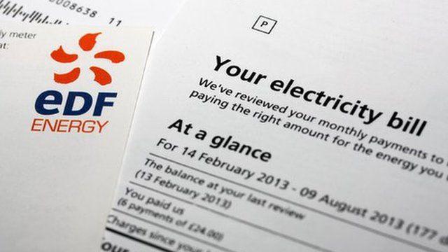 EDF electricity bill