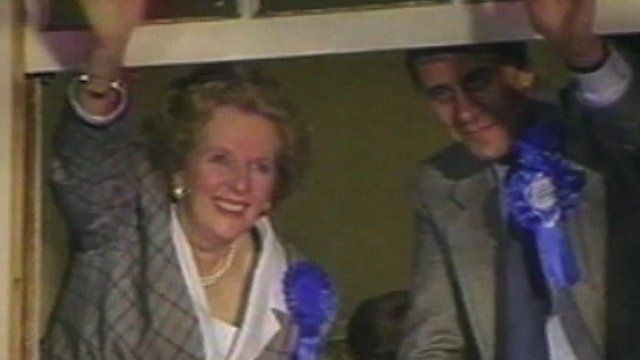 Archive image of Margaret Thatcher and Norman Tebbit