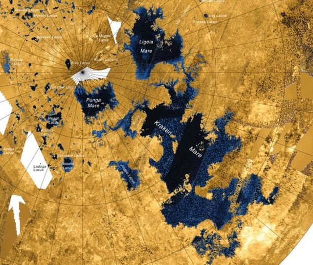 'Waves' detected on Titan moon's lakes