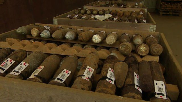 WW1 bombs polluting drinking water in France and Belgium