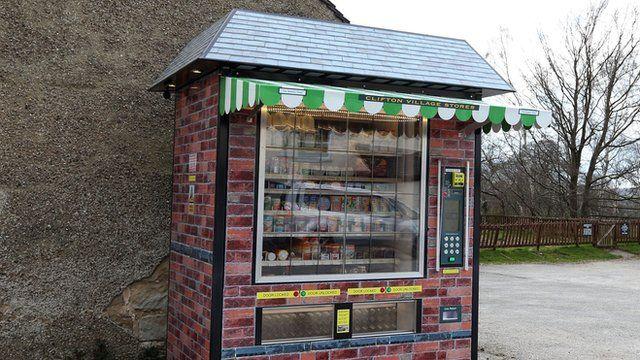 Vending machine shop