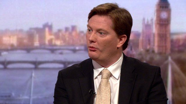 Danny Alexander on The Andrew Marr Show