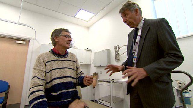 Michael Lloyd and Professor Rob Grimer