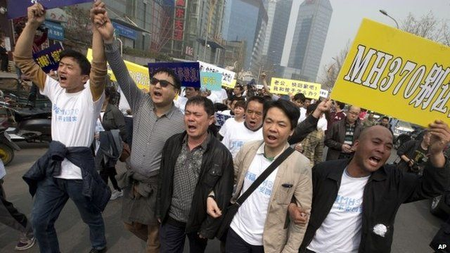 Protesters take to the streets in Beijing