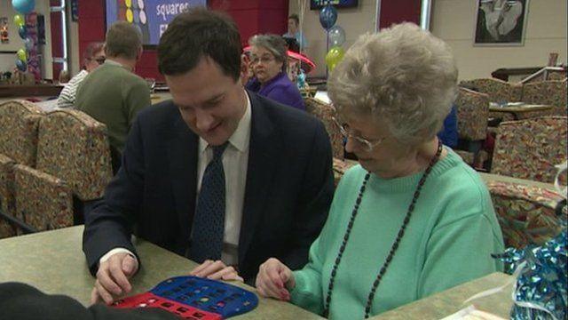George Osborne and bingo partner
