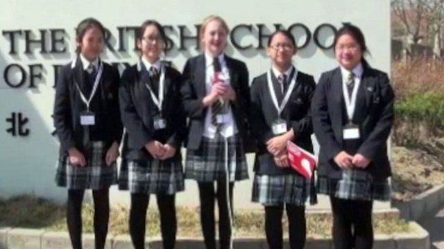 What's life like at the British School in Beijing?
