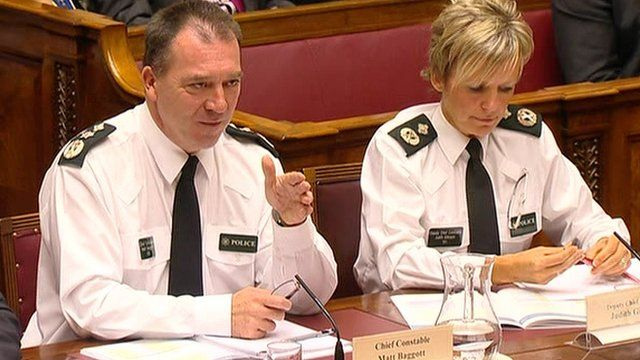 Chief Constable Matt Baggott appeared before the Public Accounts Committee