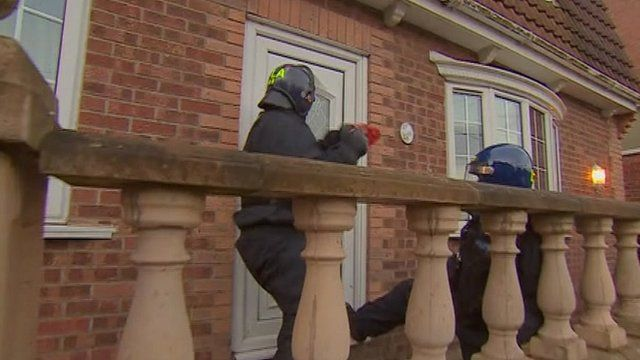 Durham Police in early morning drugs raid