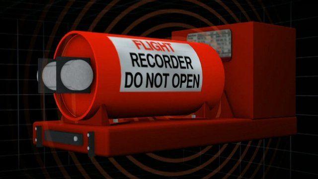 Flight recorder graphic