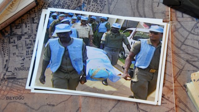 How the BBC reported the death of Capt Mbaye Diagne
