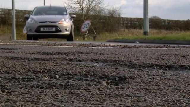Around 7,000 extra potholes will be repaired this spring in Staffordshire