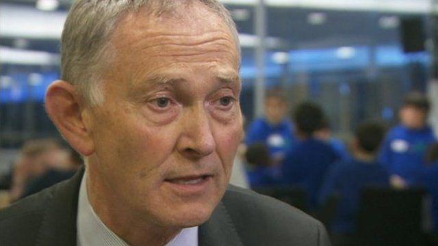 Premier League Chief Exec Richard Scudamore