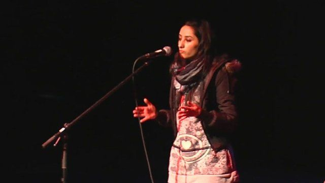 Ramika on stage