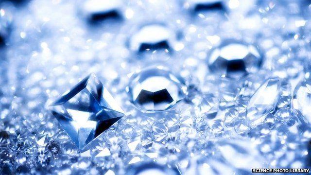Cut and polished diamonds