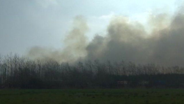 Fire at recycling centre in Cardiff