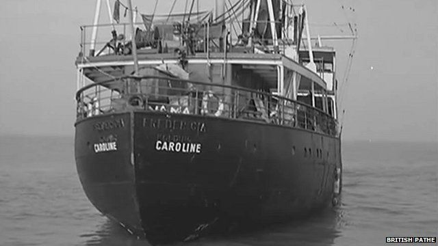 Radio Caroline pirate ship