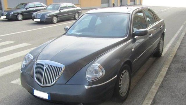 Italy: Hundreds of executive cars to be sold on eBay