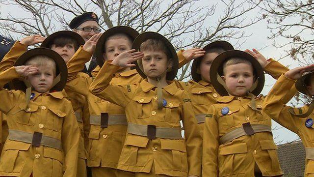 Pupils at Carlton Central Junior School