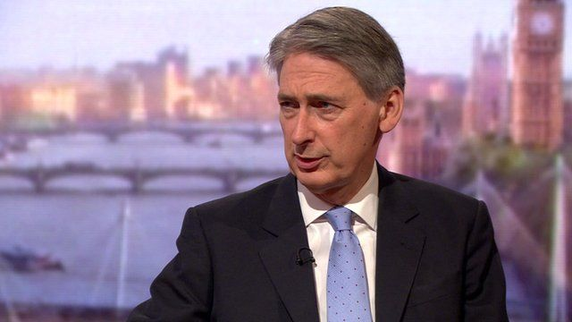 Secretary of Defence Philip Hammond