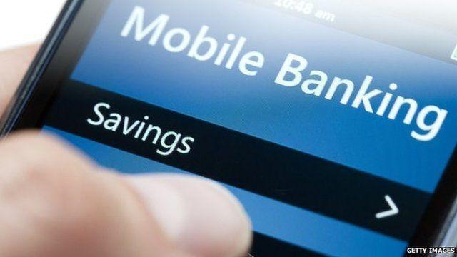 Smartphone banking app