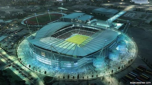 Manchester City's Etihad Stadium to be expanded in two phases