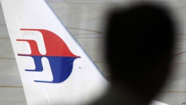 Malaysia Airlines aircraft tail