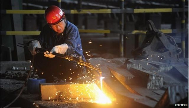 China manufacturing output remains weak in March