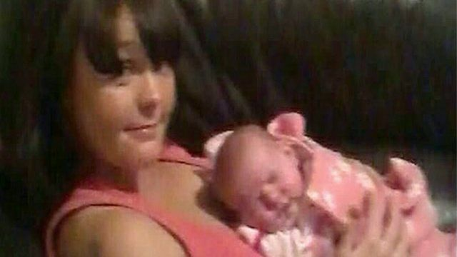 Joanne Thomas with her daughter Harper