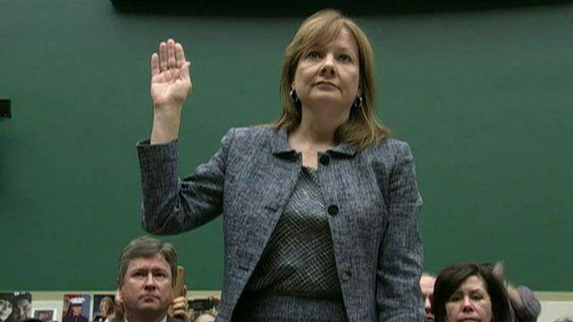 General Motors chief executive Mary Barra