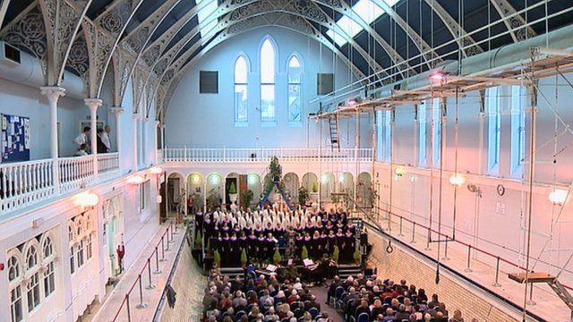 Music recital in the Western Baths
