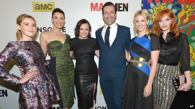 The cast of Mad Men