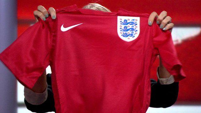 England World Cup shirt