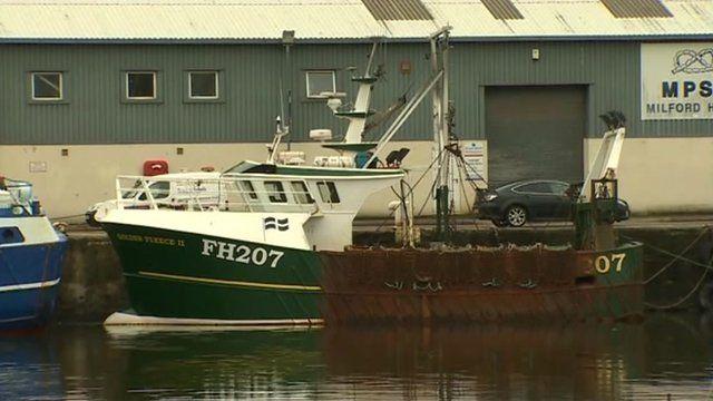 Mark Powell's fishing boat, the Golden Fleece II