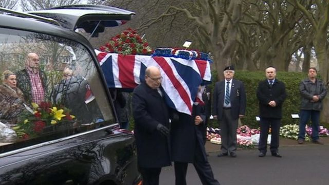 The funeral of John Campbell