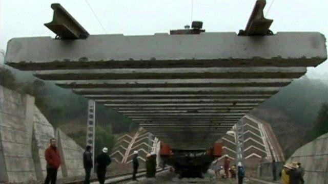 Chinese railway construction