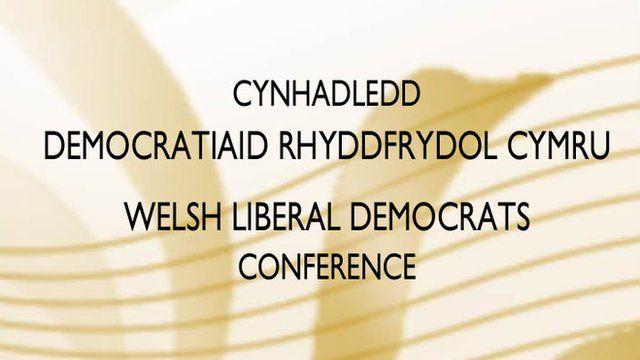 Cynhadledd Lib Dems Cymru