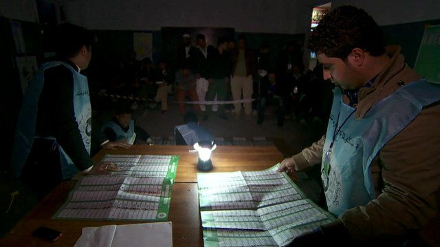 Vote counting in Afghanistan